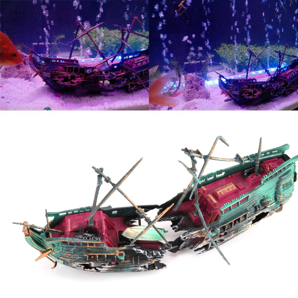 Aquarium Dekoration Schiff Schiffswrack Kaufen Auf Ricardo